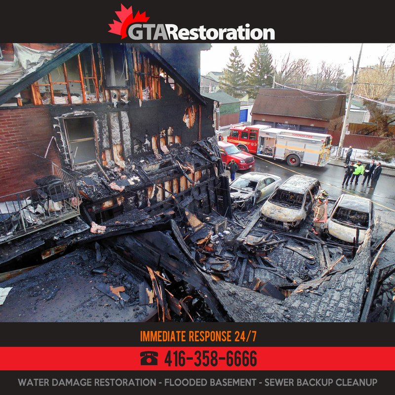 Fire Damage Restoration Toronto by GTA Restoration
