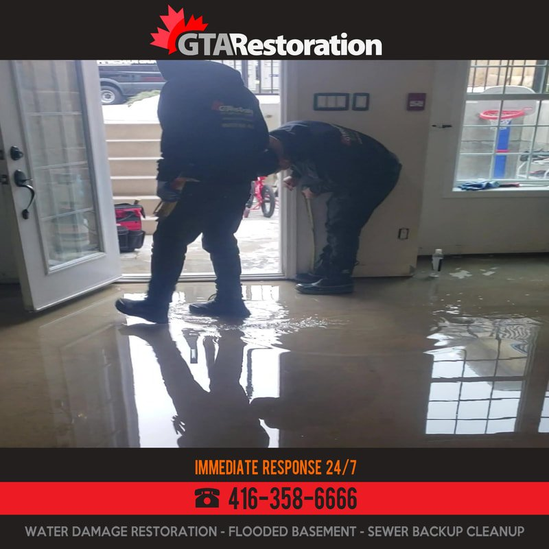 Flood Cleanup Toronto by GTA Restoration